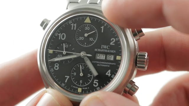 Original IWC Pilots Watch Doppelchron...
