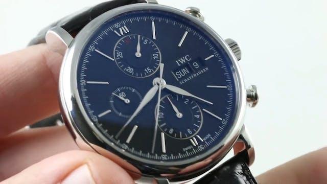 IWC Portofino Chronograph IW3910-08 R...