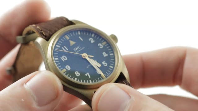 IWC Pilots Watch For The Rake And Rev...