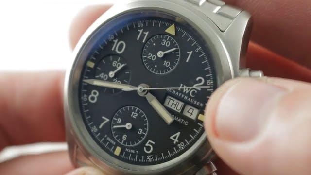 IWC Pilots Watch Chronograph 3706-03 ...