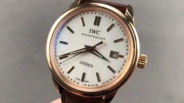 IWC Vintage Ingenieur IW3233-03 IWC Watch Review