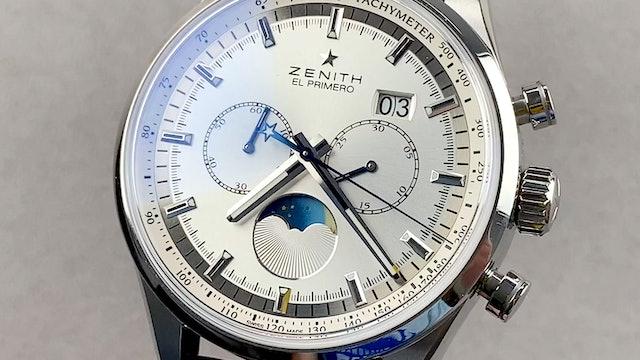 Zenith El Primero Chronograph Moonphase 03.2160.4047:02.C713