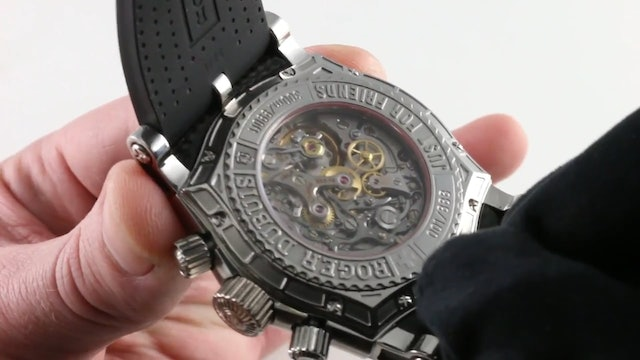Roger Dubuis Easy Diver Chronograph Se46.56.9 0 Review