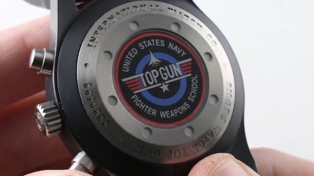 IWC Pilots Watch Chronograph Top Gun ...