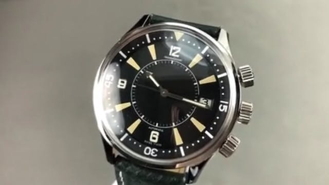 Jaeger-Lecoultre Memovox Tribute To P...