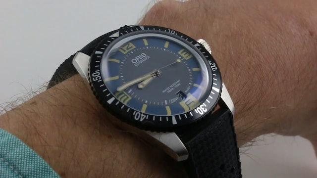 Oris Divers 65 Blue Dial Review
