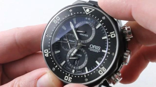 Oris Prodiver Chronograph Dive Watch (01 774 7683 7154) Review