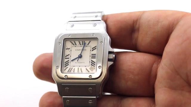 Quick Review Cartier Santos Galbee XL Ref W20098D6 Watch
