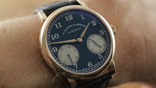 A. Lange & Sohne 1815 Up/Down Wempe 234.042 Review