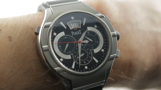 Piaget Polo Fortyfive Flyback Chronog...