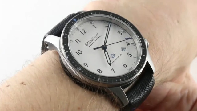Bremont Boeing Model 1 (COSC+ANTISHOCK) BB1-SS/WH Review