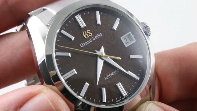 Grand Seiko 20th Anniversary Caliber ...
