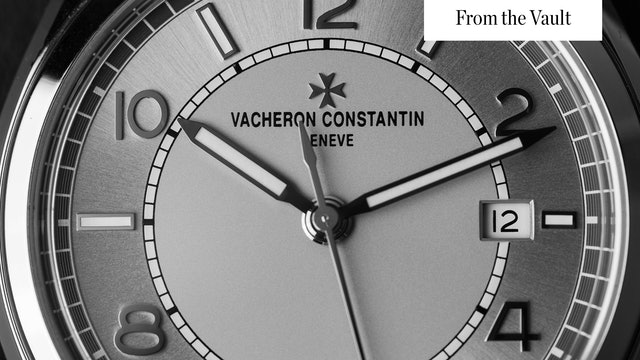 Sports Watches For Thanksgiving: Vacheron, Sinn, Hublot, & Gerald Genta