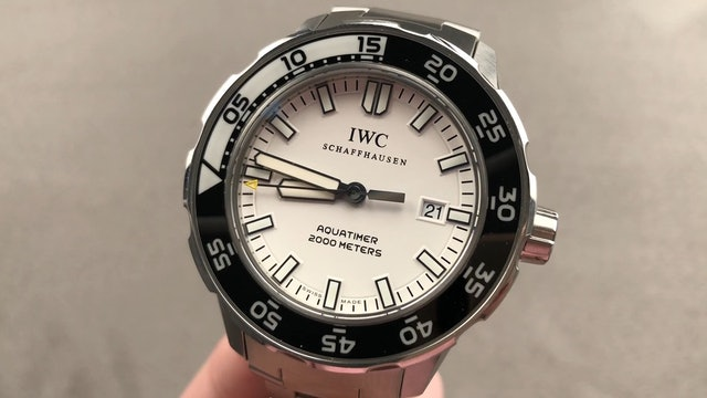IWC Aquatimer 2000 IW3568- 09