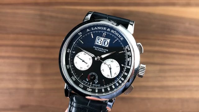A. Lange & Sohne Datograph Up Down 40...