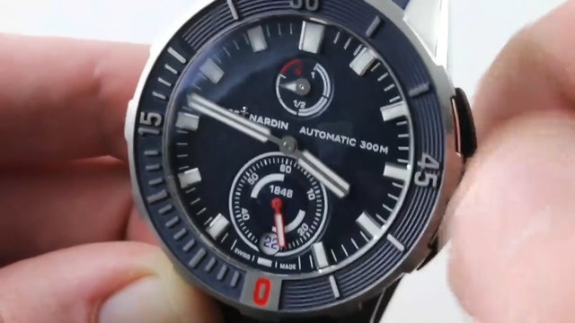2018 Ulysse Nardin Diver Chronometer (1183 170 3 93) Review
