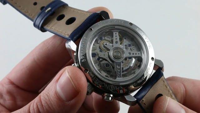 Bremont Jaguar Mark II Chronograph Bj...