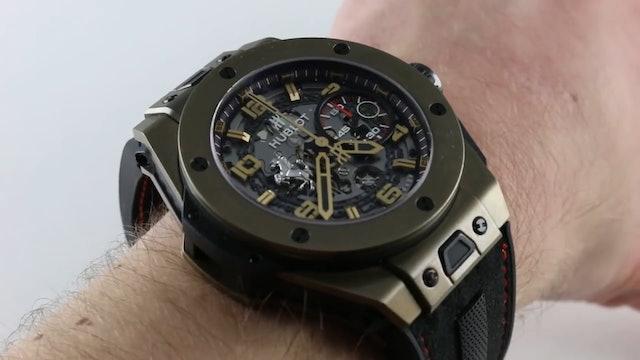 Hublot Big Bang Ferrari Limited Edition 401.MX.0123.VR Review