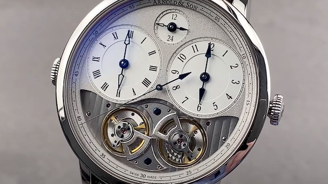 Arnold & Son DBG Equation GMT 1DGAS.S01A.C121S