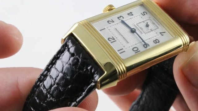 Jaeger Lecoultre Reverso Duo GMT Dual...