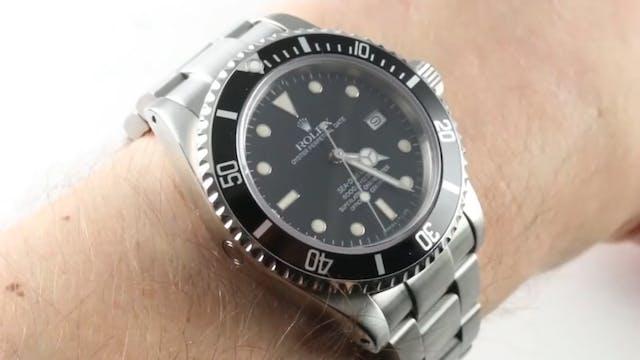 """Rolex Sea Dweller """"Triple Six"""" (Vinta..."""