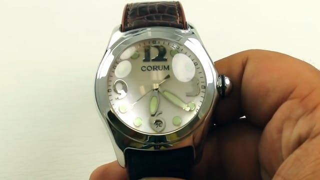 Quick Review: Corum Bubble Boutique E...