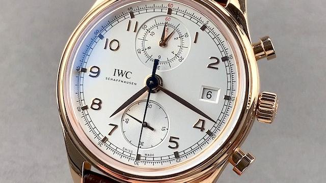 IWC Portugieser Chronograph Classic IW3904-02