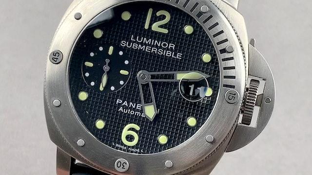 Panerai Luminor Submersible PAM 25