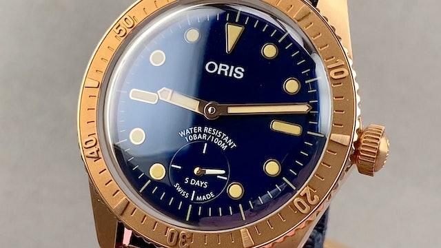 Oris Carl Brashear Calibre 401 Limited Edition 01 401 7764 3185-Set