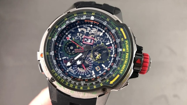 Richard Mille RM 39-01 Aviation E6 B Flyback Chronograph Review