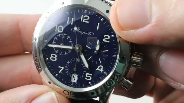 Breguet Type Xx Transatlantique Blue ...