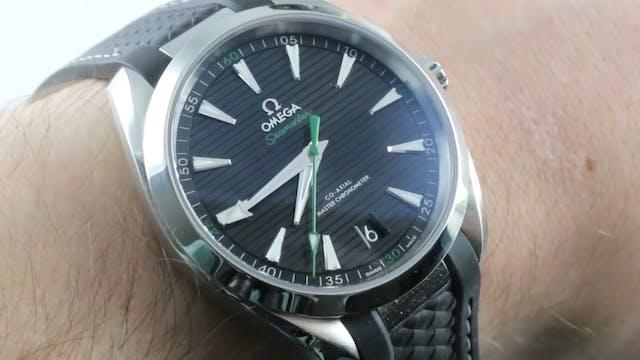 Omega Seamaster Aqua Terra (Sergio Ga...