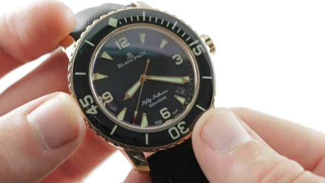 Blancpain Fifty Fathoms Automatic 5 D...