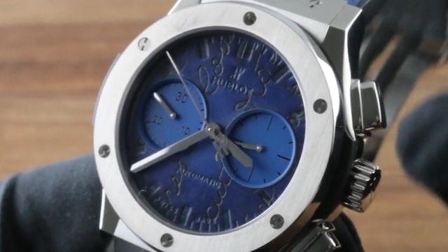 Hublot Classic Fusion Chronograph Berluti Scritto (521.NX.050B.VR.BER18) Review
