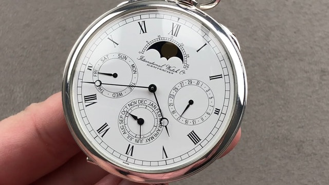 IWC Moon Phase Pocket Watch IW5503-03