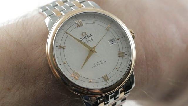 Omega De Ville Prestige Chronometer C...