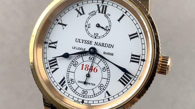 Ulysse Nardin Marine 150th Limited Edition 266-22