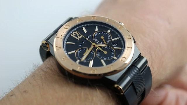 Bvlgari Diagono Chronograph Ref. Dg42BBspgvdch Watch Review