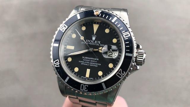 Vintage Rolex Submariner 16800 Review