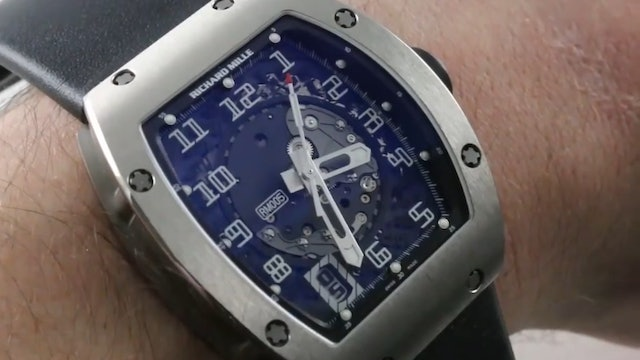 Richard Mille RM 005 Automatic Review