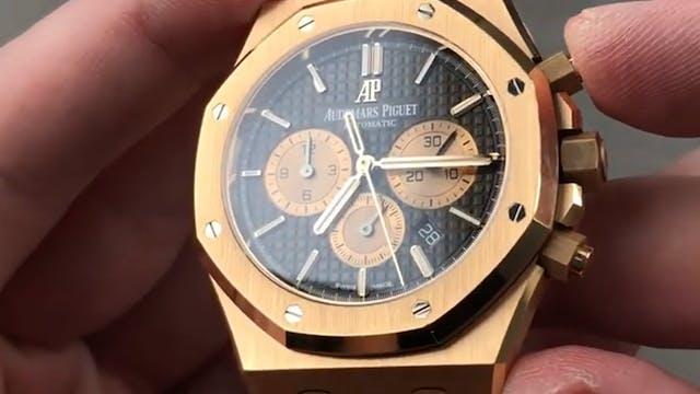 Audemars Piguet Royal Oak Chronograph...