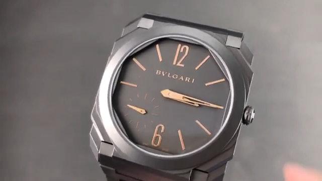 Bulgari Octo Finissimo Ultra Thin Titanium 103137 Review