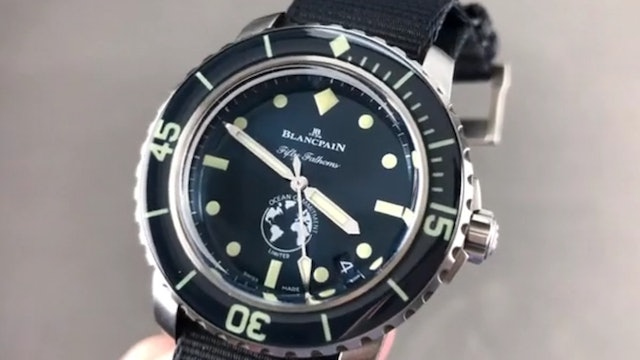Blancpain Fifty Fathoms Ocean Commitment III Limited Edition 5008 11B40 Naoa
