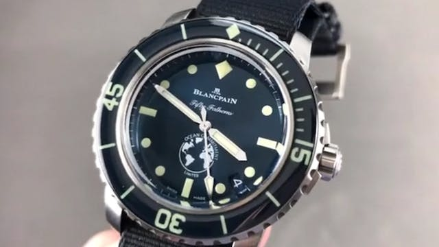 Blancpain Fifty Fathoms Ocean Commitm...