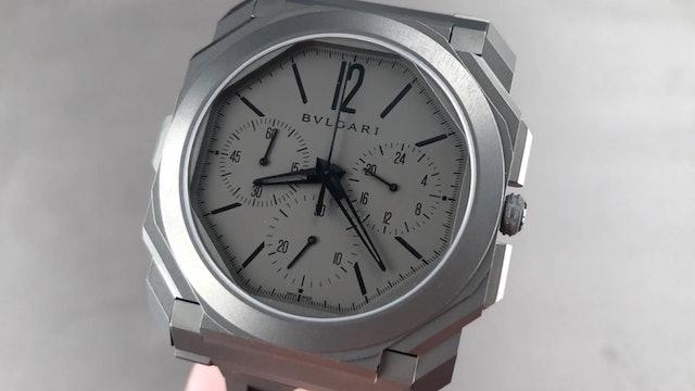 Bulgari Octo Finissimo Chronograph GMT 103068 Review