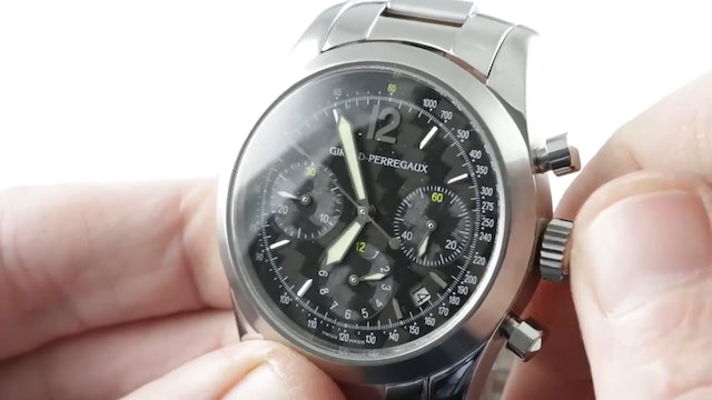 Girard Perregaux Sport Chronograph Limited Edition (49560.1.11.6646) Review