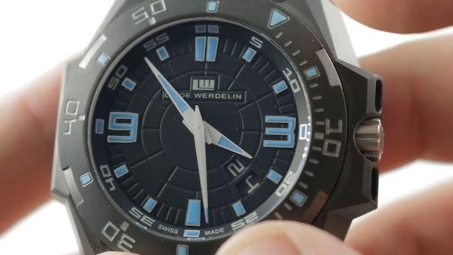 Linde Werdelin Hard Black IIi Big Date Limited Edition Lw.Hbiii.Bd Dive Review