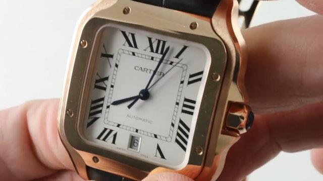 "2018 Cartier Santos De Cartier ""Santos Large"" WGSA0011 Review"