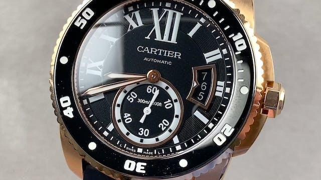 Cartier Calibre de Cartier Diver W710...