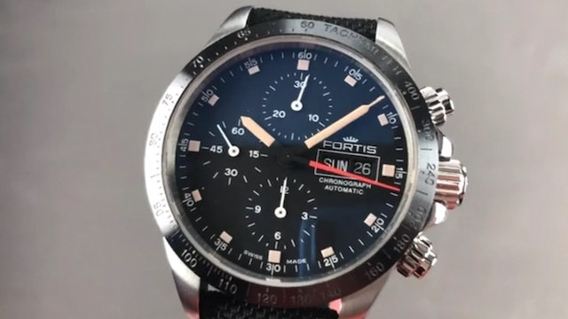 Fortis Stratoliner Chronograph Day Date 401.26.31 Fortis Watch Review